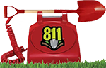 811 PUPS, Call Before You Dig